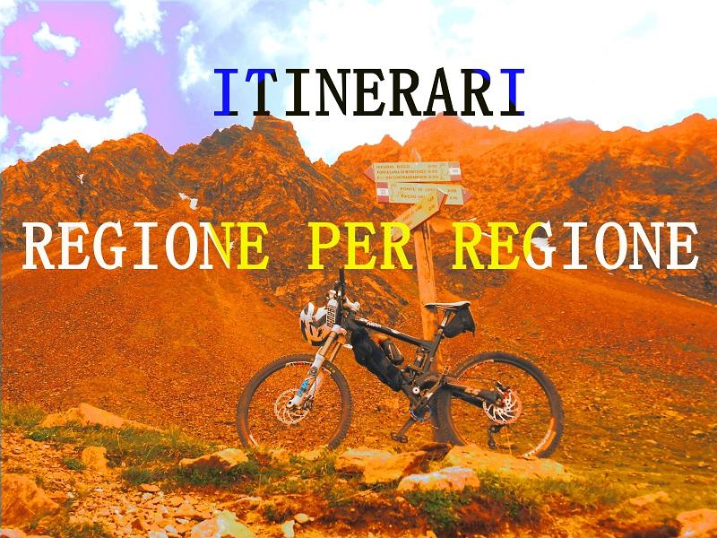 ITINERARI MTB Regione per Regione