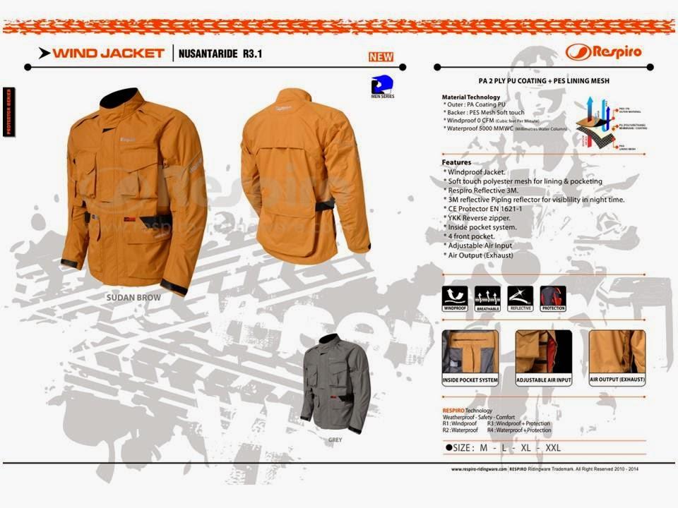 Jaket Nusantaride - Respiro