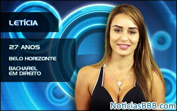 Letícia Santiago do BBB14