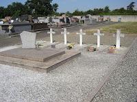 ■ Le carré militaire de Portet-sur-garonne avant la réfection de 2014