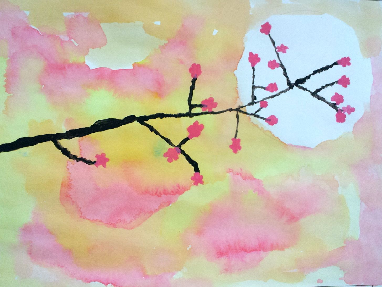 Exelent Cherry Blossoms Wall Art Festooning - All About Wallart ...