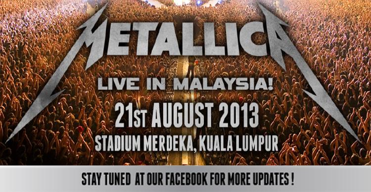Metallica Live in Malaysia