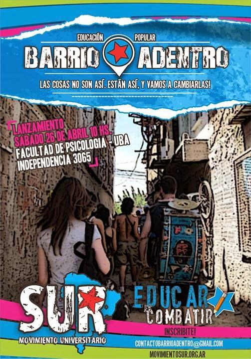Cátedra Libre de Educación Popular Barrio Adentro
