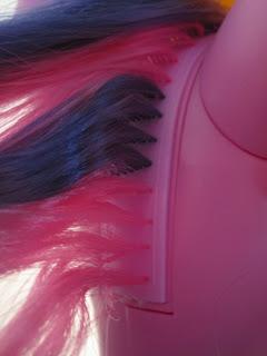 My Little Pony Talking Princess Twilight Sparkle mane rooting.