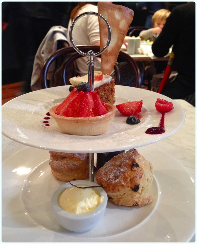 Rosylee Tea Room Manchester - Cream Tea