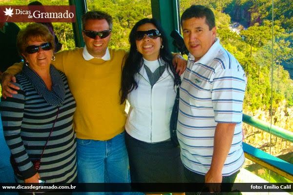 Forte amizade que se iniciou em Gramado/RS