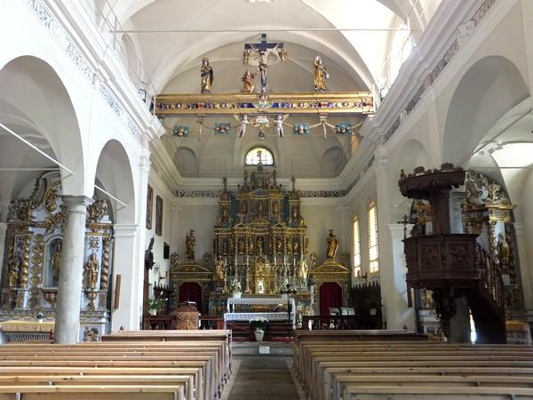 Italie Italy Aoste Aosta vallée lys walser église issime