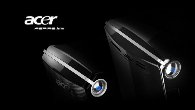 Check This Wallpaper: Acer Aspire Power Mimalist Dark Style Wallpaper