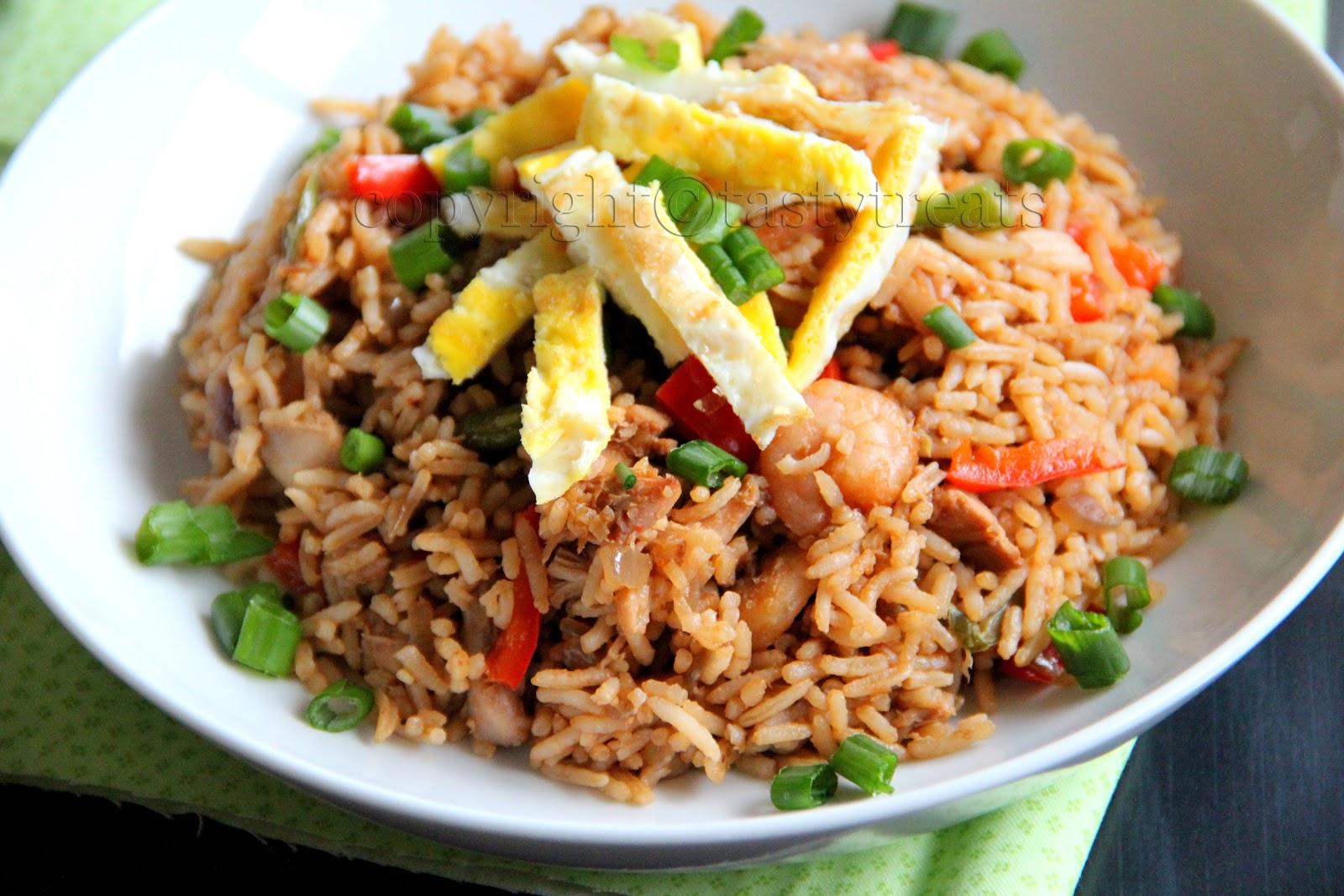 Tasty Treats: Nasi Goreng - Indonesian Fried Rice