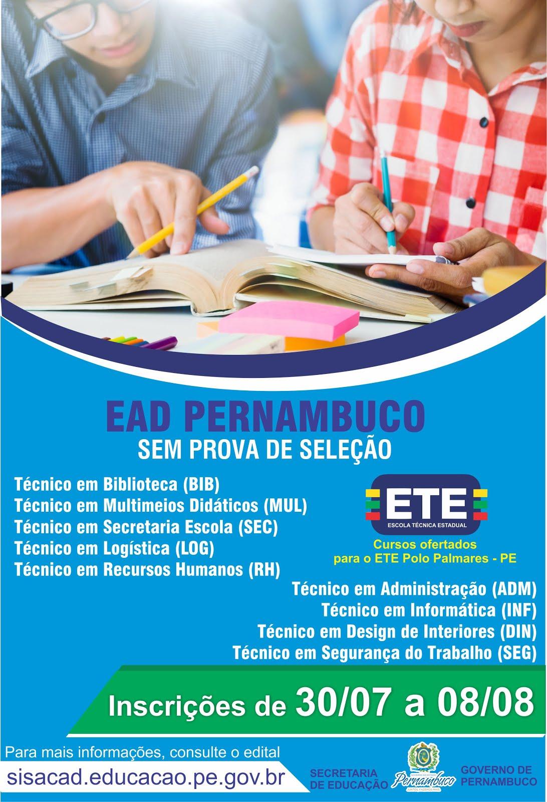 ETE Palmares - PE