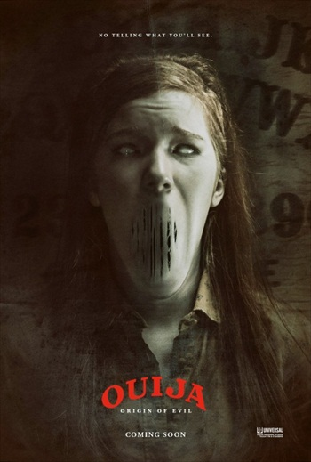 Poster Of Ouija: Origin of Evil 2016 Full Movie In Hindi Dubbed Download HD 100MB English Movie For Mobiles 3gp Mp4 HEVC Watch Online