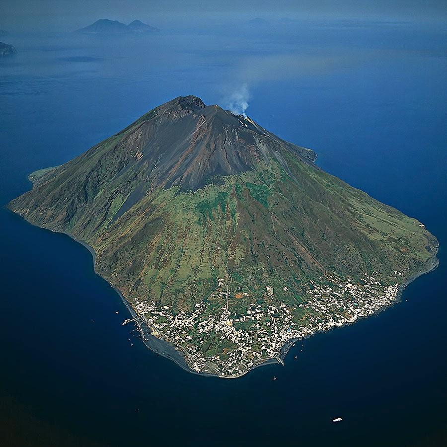 вулкан италия