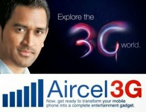 Aircel Free 1gb 2G / 3G Data for Nokia & Samsung Handsets
