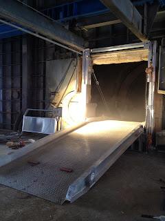 Kiln Access Ramp