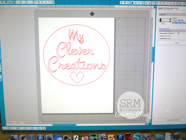 SRM Stickers Blog - Craft Room Door Decor by Annette - #vinyl #home decor #gloss
