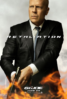 G.I. Joe: Retaliation Character Movie Poster Set 1 - Bruce Willis as General Joe Colton