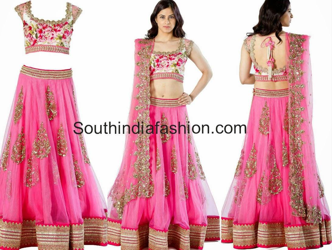 anushree reddy designer half sarees online