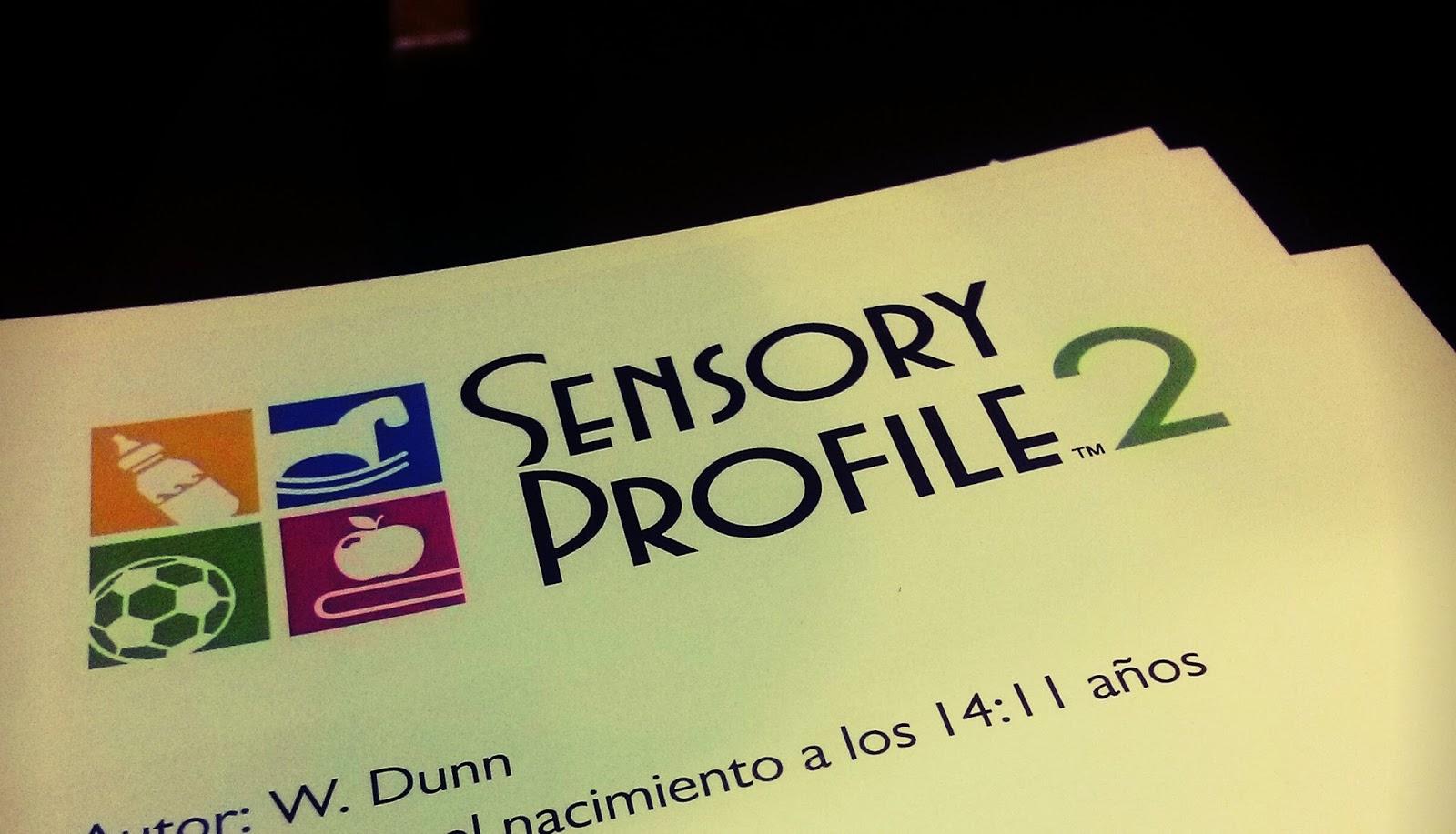 TO\'s En Formación: Opinión. Curso Perfil Sensorial de Dunn