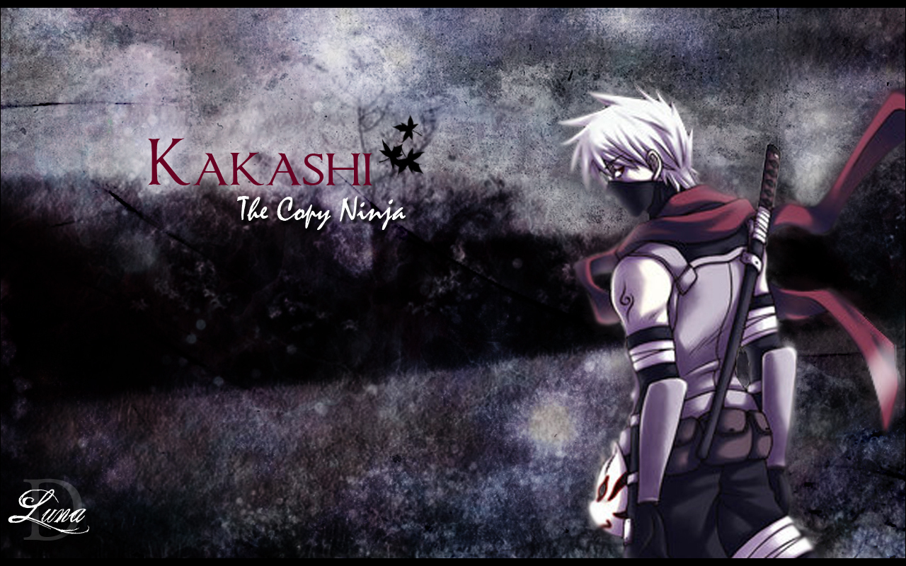 wallpapers hd for mac kakashi hatake naruto shippuden