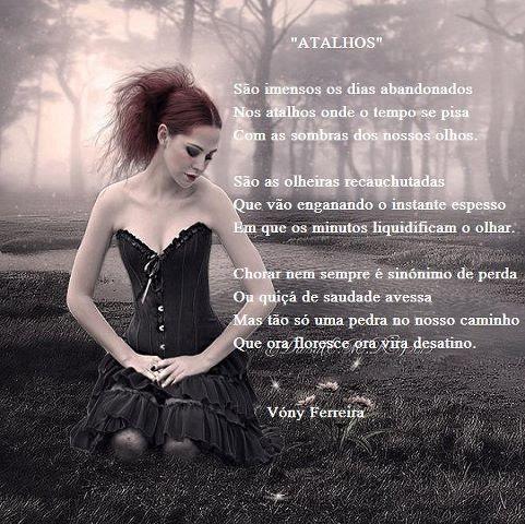 ATALHOS poema de Vóny Ferreira