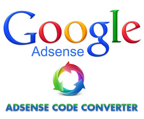 Adsens Code Converter