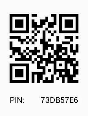 My BBM Pin