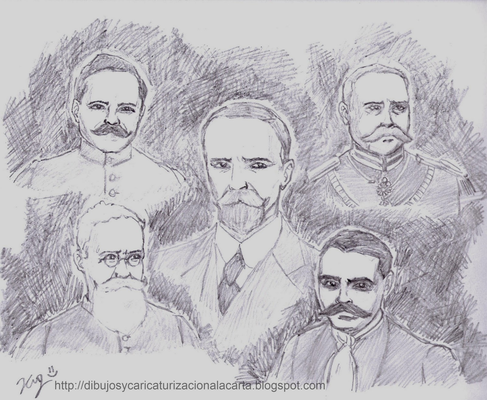 dibujos y caricaturizacion a la carta: La Revoluvion ...