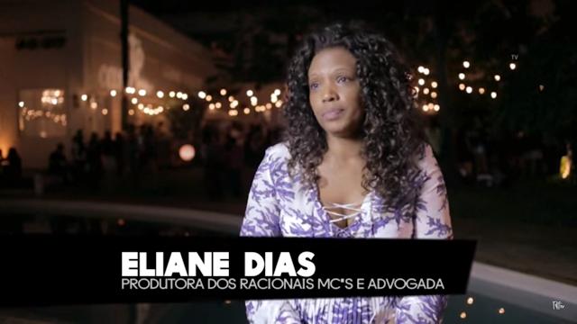 Vídeo - Eliane Dias fala sobre preconceito e Racionais MC's #TripTV