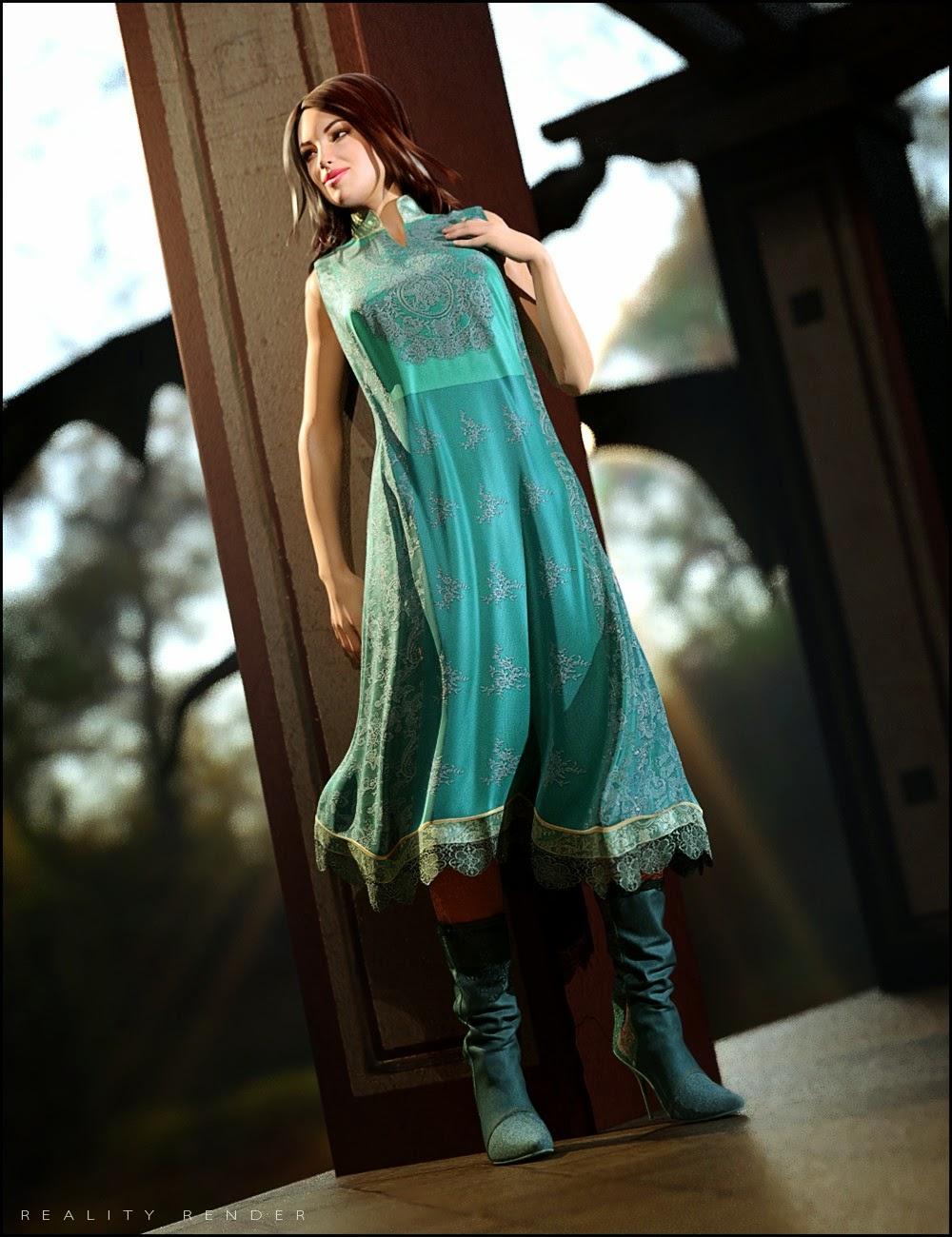 High Garden Outfit Textures