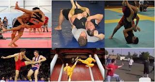 mma vs no gi bjj grappling vs kung fu sanchou sanda vs boxing