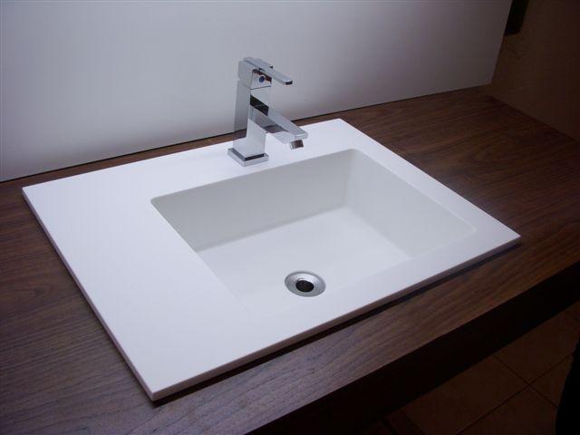 Construindo Minha Casa Clean Cubas e Torneiras de Banheiros!!! Qual escolher? -> Cuba Para Banheiro Quadrada De Embutir