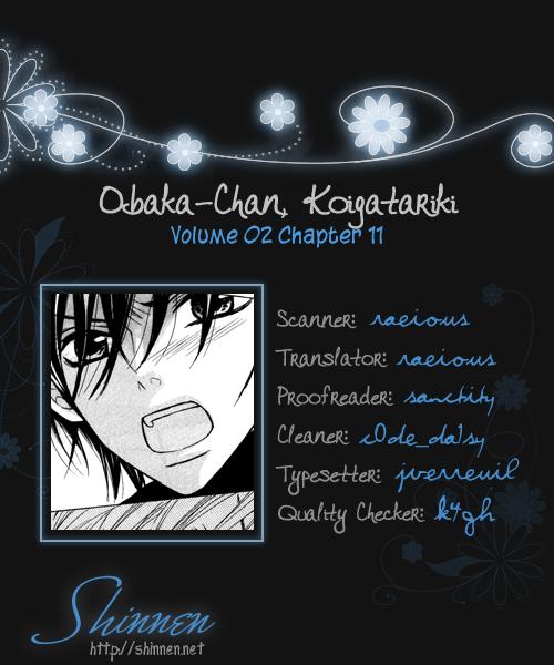 Obaka-chan, Koigatariki Chap 11 - Next Chap 12