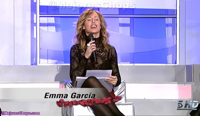 Emma garcia transparencia ropa interior vestidos de for Miren ibarguren ropa interior