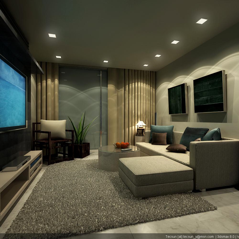 Kombinasi warna cat rumah ask home design for Great living room designs