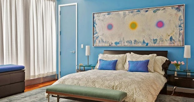 Choosing the right paint colors for the bedroom