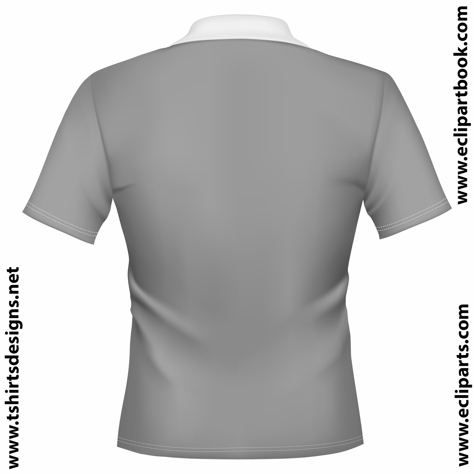 The Gallery For Collar T Shirt Template