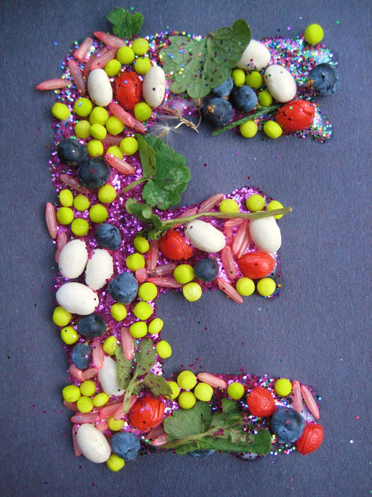 Alphabet Nature Collage