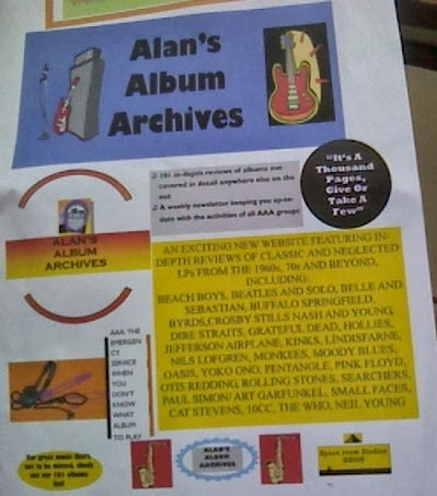 Alan's Album Archives