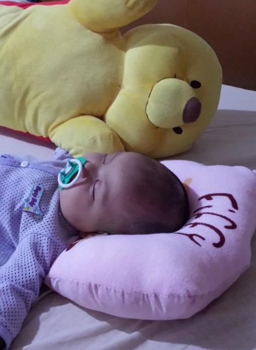 beli bantal khas untuk baby, harga bantal bayi jenama fiffy, gambar bantal fiffy, kelebihan guna bantal khas bayi untuk tidur