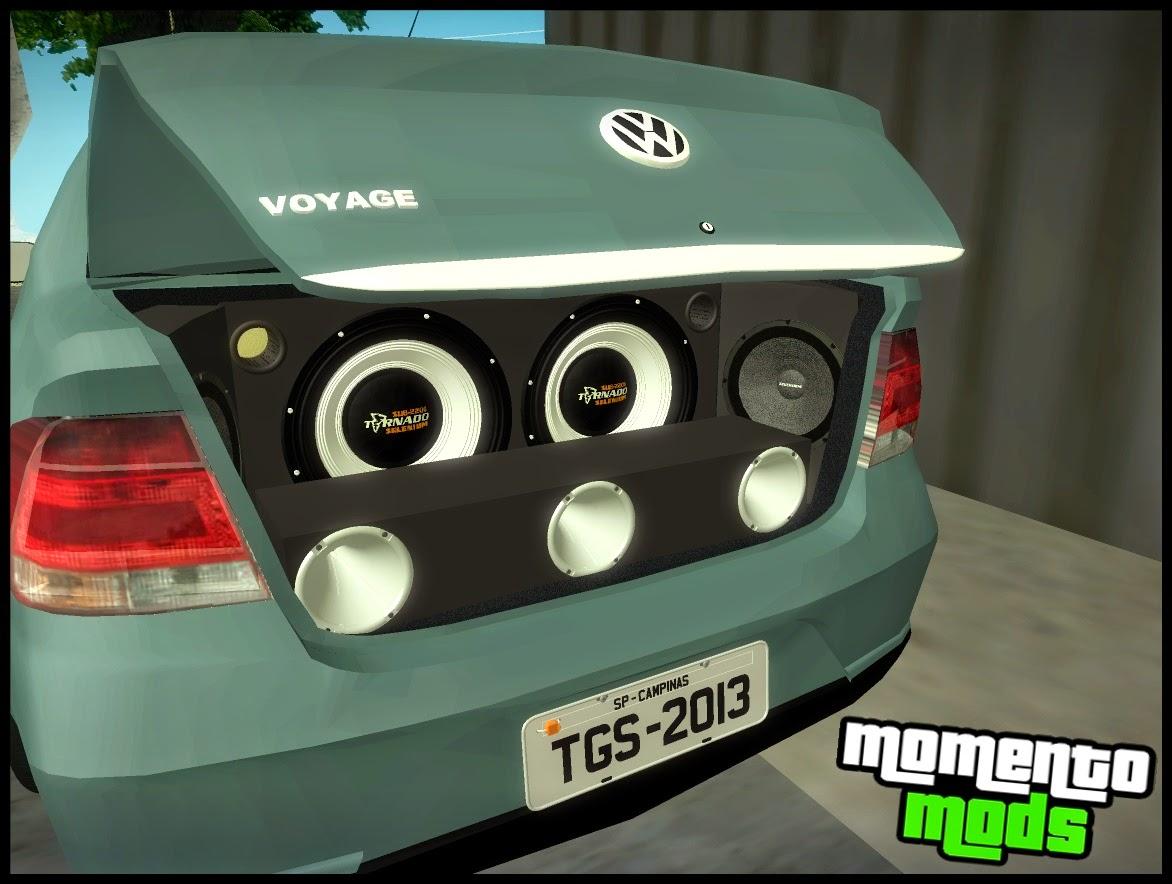 GTA SA -  Voyage G5 + Passat CC Na Fixa + Som