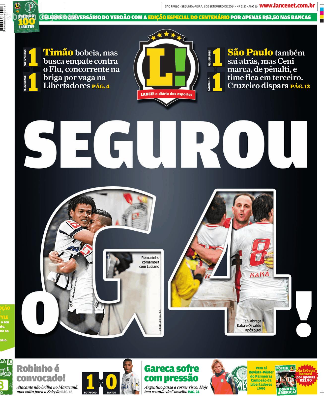Série A  Corinthians e Fluminense empatam e afastam-se do líder ... f7e2665c3bf5f