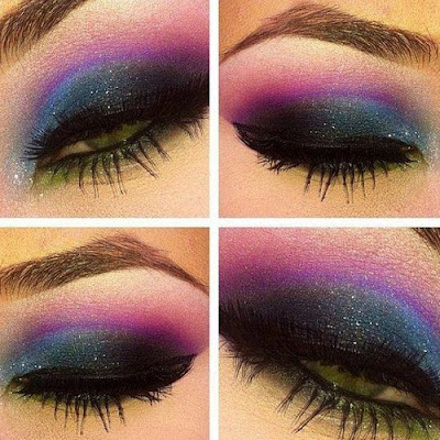 MAQUILLAJE GALAXY EN VIDEO TUTORIAL