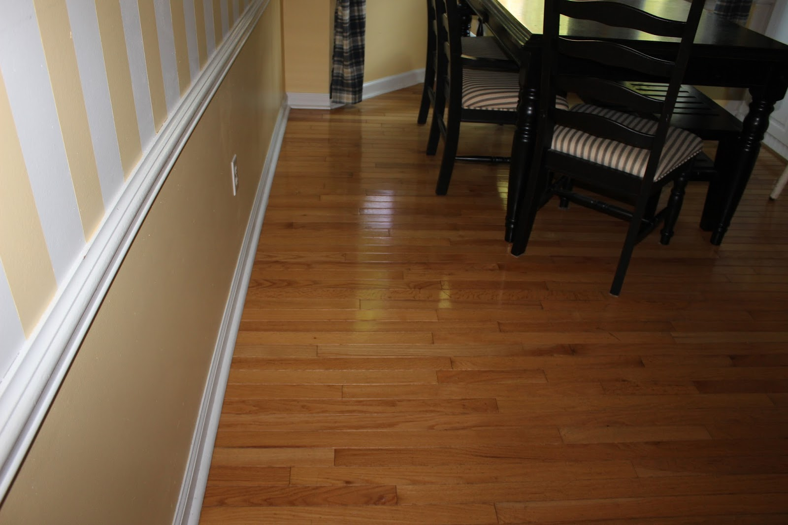 how to clean film off hardwood floors
