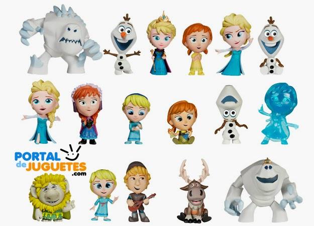 Mini Figuras Frozen Funko coleccion completa
