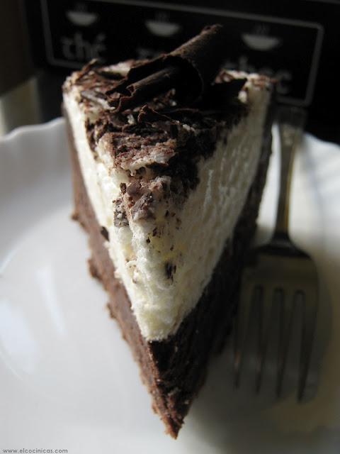 Tarta de nata y chocolate al estilo Missisippi