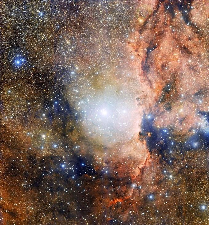 Constelação a 4 mil anos-luz da Terra é detalhada por telescópio chileno