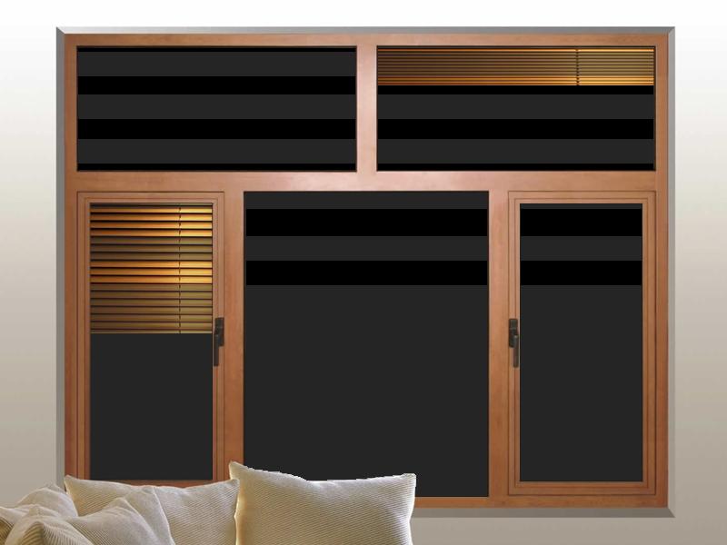 Marcos photoscape marcos photoscape puerta madera 2 con cristal y persianas - Puertas madera y cristal ...
