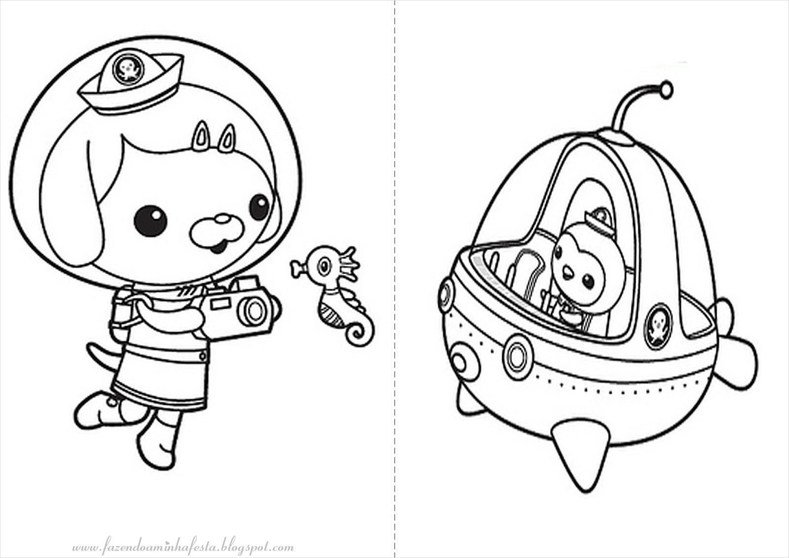 Contemporáneo Octonautas Para Colorear Peso Ideas - Dibujos Para ...