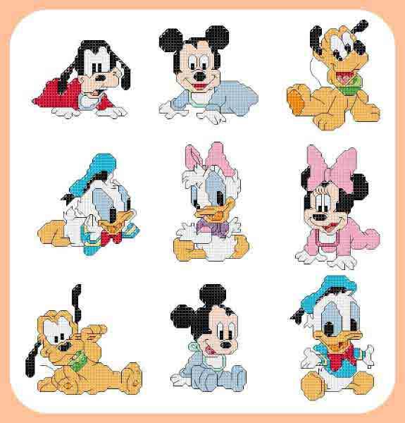 Super Croci E Punti: Disney baby BU07