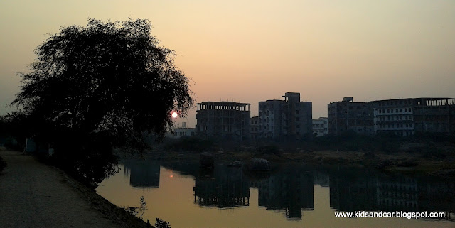 morning in pbel city